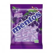 Mentos Chewy Dragees Pillow Pack 36's - Grape