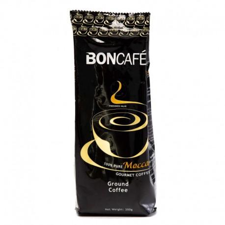 BONCAFE 100% Pure Mocca Gourmet Coffee 200g - Powder