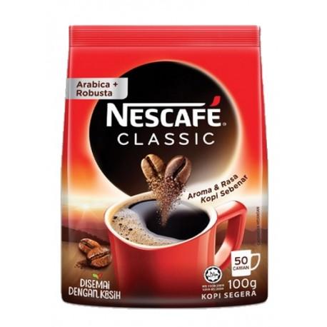 Nestle Nescafe Classic Refill pack 100g