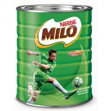 Nestle Milo Chocolate Malt Activ-Go 1.5Kg (tin)
