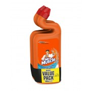 Mr. Muscle Toilet Bowl Cleaner 2x500ml - Marine