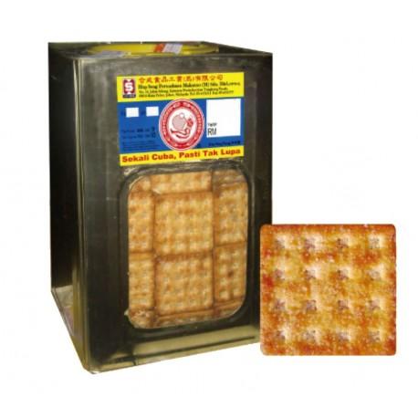 Hup Seng Sugar Crackers 3.5Kg (Bulk Tin)