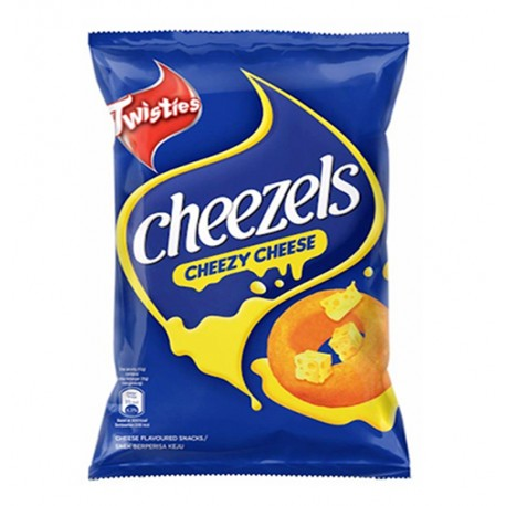 Twisties Cheezels Cheezy Cheese Snack 60g