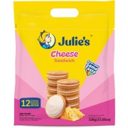 Julie's Cheese Sandwich Biscuit 336g