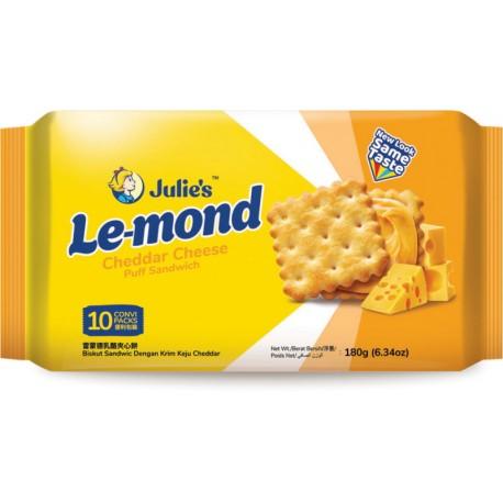 Julie's Le-mond Puff Sandwich 180g - Cheddar Cheese