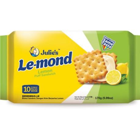 Julie's Le-mond Puff Sandwich 170g - Lemon Flavoured