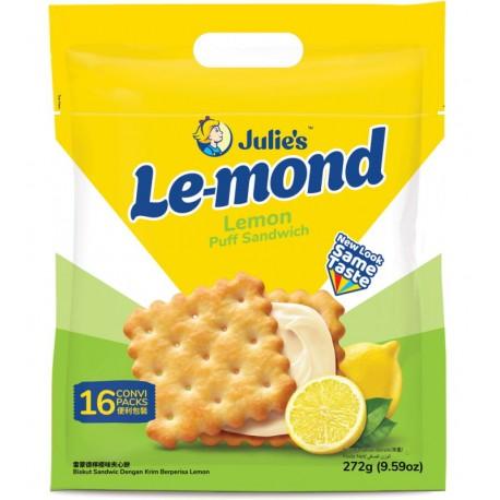 Julie's Le-mond Puff Sandwich 272g - Lemon
