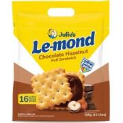 Julie's Le-mond Puff Sandwich 288g- Chocolate Hazelnut