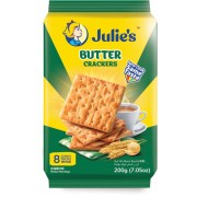 Julie's Butter Crackers 200g (8 Convi Packs)