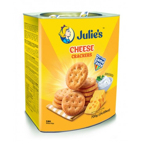 Julie's Cheese Crackers 700g