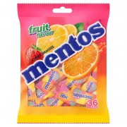 Mentos Chewy Dragees Pillow Pack 36's - Fruit