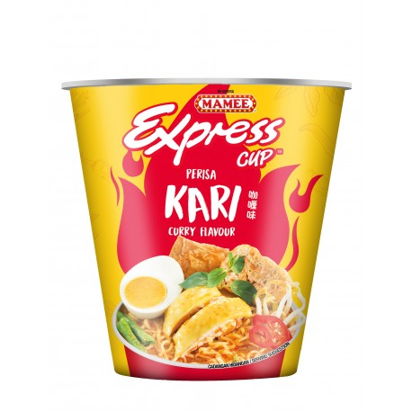 MAMEE Express Cup Instant Noodles 64g - CURRY