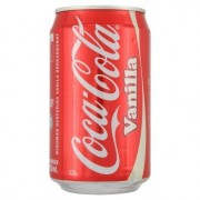 Coca-cola vanilla carbonated drink 320ml (tin)