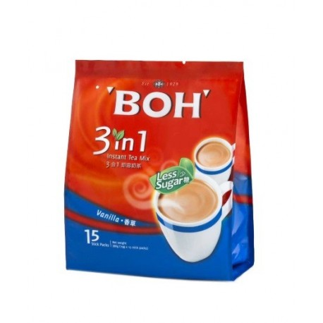 BOH 3 in 1 Vanilla Instant Tea Mix 15x19g