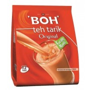 BOH TEA Teh Tarik Kurang Manis -12s