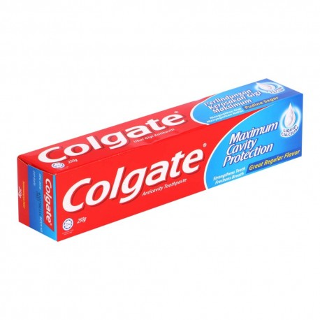 Colgate Anticavity Toothpaste - Great Regular Flavour 250g