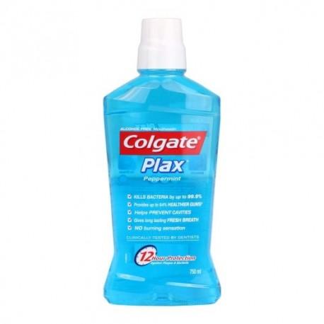 Colgate Plax Mouthwash 750ml - Peppermint