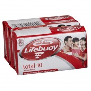 Lifebuoy Antibacterial Soap 3 x 80g -Total 10