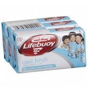 Lifebuoy Antibacterial Soap 3 x 80g - Cool Fresh