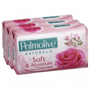 Palmolive Naturals Bar Soap 3 x 80g -Soft & Moisture