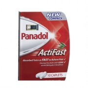 PANADOL ActiFast 10 caplets
