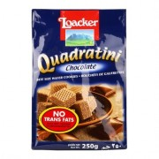 Loacker Quadratini Wafer 250g - Chocolate