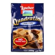 Loacker Quadratini Wafer 250g - Chocolate