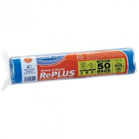 Sekoplas RePlus HDPE Garbage Bag 50s - Medium