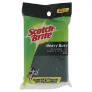 3M Scotch-Brite Heavy Duty Scouring Pad 3s