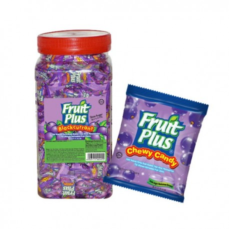 Fruit Plus Chewy Candy - Blackcurrant 350s (JAR)