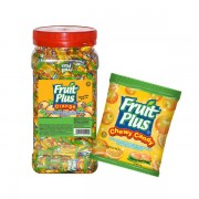 Fruit Plus Chewy Candy - Orange 1Kg (JAR)