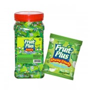 Fruit Plus Chewy Candy - Apple 1Kg (JAR)