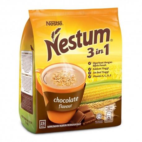 Nestum 3in1 Cereal Drink - Chocolate Flavour 28gx15