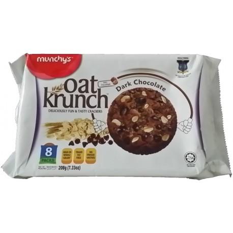 Munchy's Oat Krunch Crackers 8x26g - Dark Chocolate