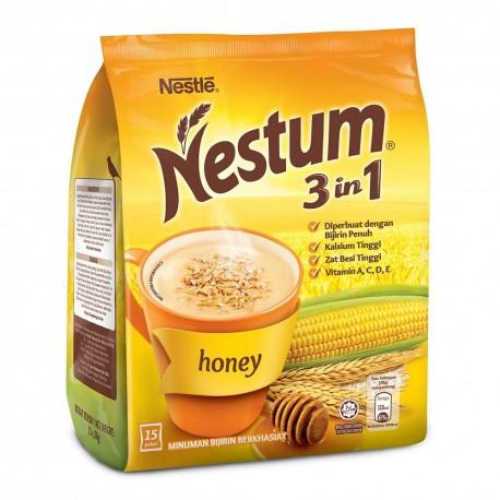 Nestum 3in1 Cereal Drink - Honey Flavour 28g x15