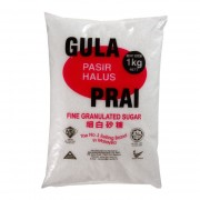 Gula Prai Fine Granulated Sugar 1kg