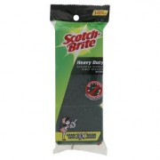 3M Scotch-Brite Heavy Duty Sponge with Scouring Pad 3s