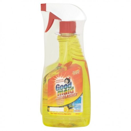 Good Maid Glassex Glass Cleaner 2x500ml - Lemon