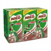Milo UHT Chocolate Malt Drink 200ml x6 pack
