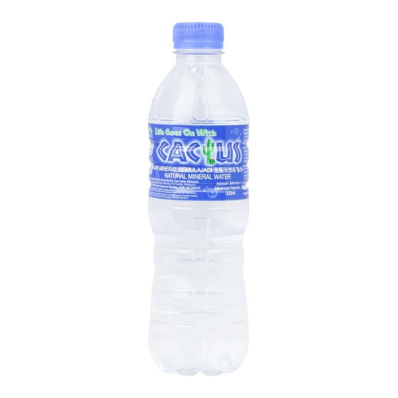 Cactus Mineral Water 500ml