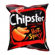 Twisties Chipster Potato Chips 60g - Hot & Spicy