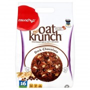 Munchy's Oat Krunch Crackers 16x26g - Dark Chocolate