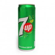 7up Fizzy Lemon Lime Carbonated Drink 320ml x24