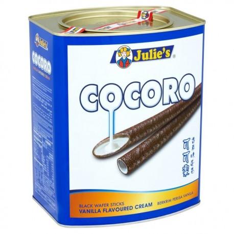 Julie's COCORO Black Wafer Stick 700g - Vanilla