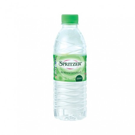 Spritzer Natural Mineral Water 350ml x24
