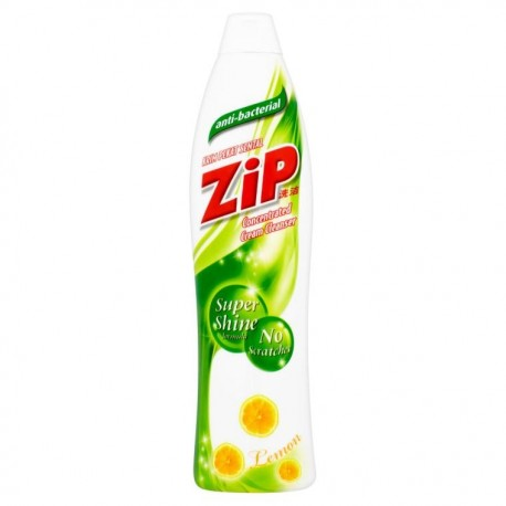 Zip Antibacterial Concentrated Cream Cleanser 500ml - Lemon