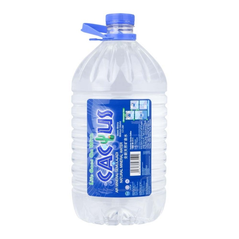 Cactus Mineral Water 5 5l