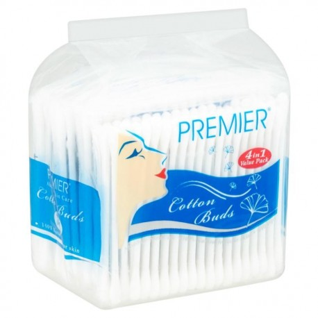 PREMIER Cotton Buds 4x160s (640 Tips)
