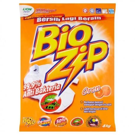Bio Zip Powder Detergent 3.8kg - Orange