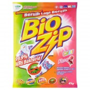 Bio Zip Powder Detergent 4kg - Color